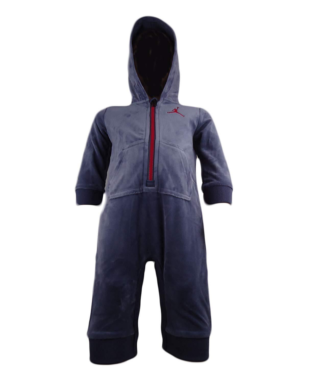 97e2111a2e85 Baby Boys  Jordan Air Tech Fleece Infant Coverall - Baby Clothes ...