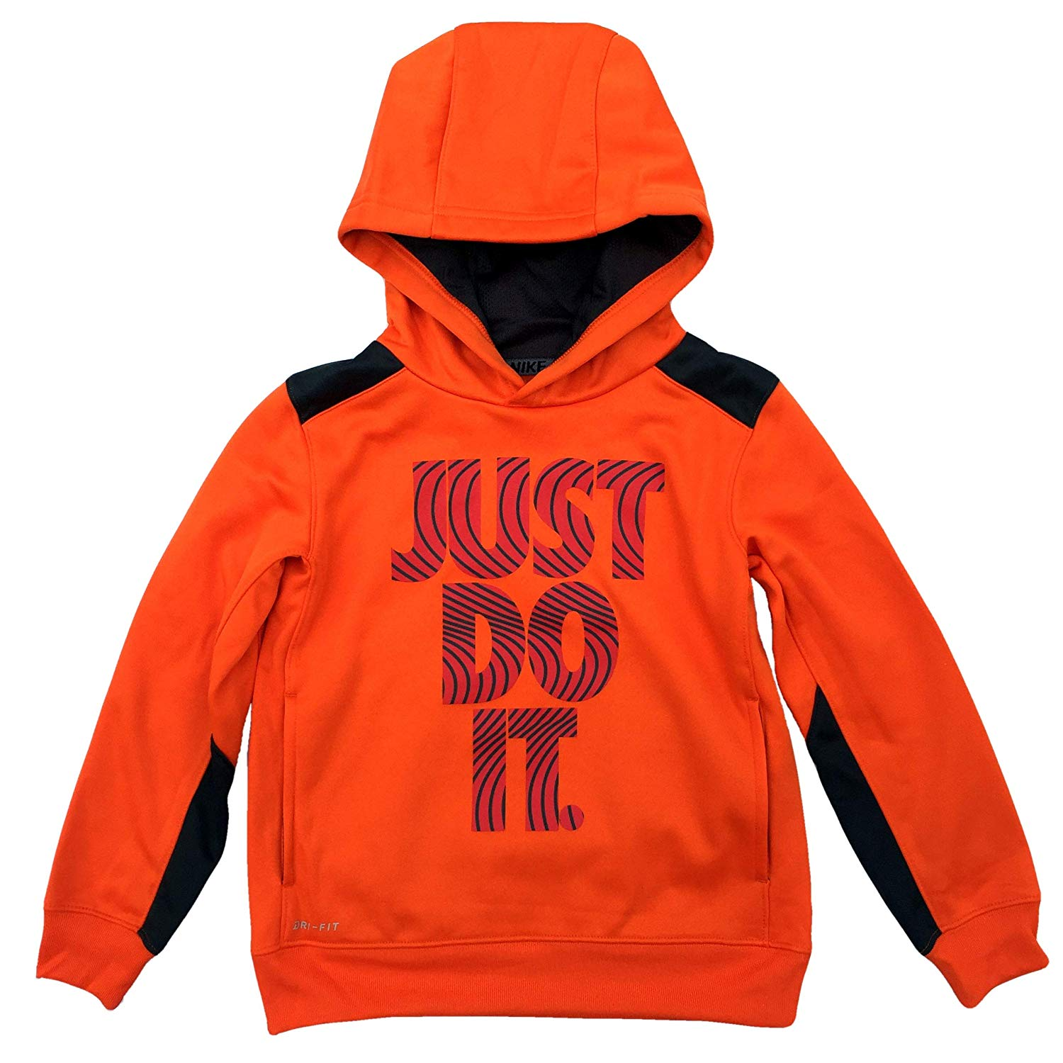 169840ed299c NIKE Little Boys  Dri-Fit Therma Fleece Hoodie Pullover Sweatshirt ...
